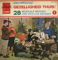 Gezellighied thuis. LP cover