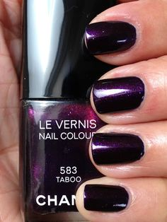 Chanel Taboo. If I ever decide to splurge on high end nail polish, it would be on this!