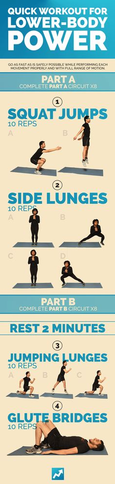 Quick lower-body workout
