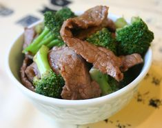 Beef Broccoli in Oyster Sauce (iron rich) This was good! I even passed the recipe on to my grandmother!