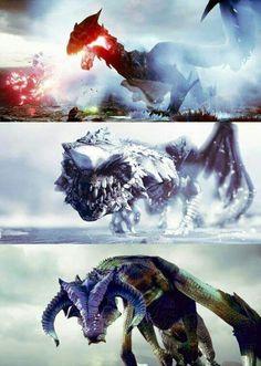 Love fighting dragons!