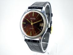 Vintage Wostok Men's mechanical watch from by WatchForLife on Etsy, $38.00