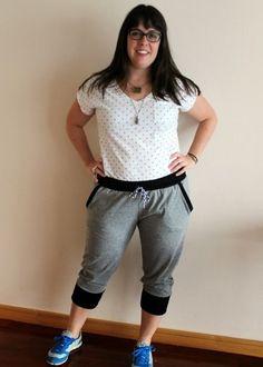 Indiesew.com | Hudson Pant Sewing Pattern by True Bias, Creation by Meg