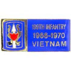 "U.S. Army 199th Infantry Brigade Vietnam Pin 1 1/8"" by FindingKing. $8.99. This is a new U.S. Army 199th Infantry Brigade Vietnam Pin 1 1/8"""