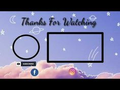 Free Outro Template || No Text - YouTube