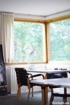 Design Tour: Alvar Aalto House in Helsinki
