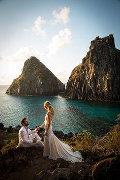 Dream Wedding, in Fernando de Noronha, Brazil