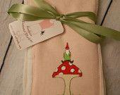 Gnome Burp cloth