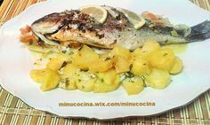Dorada al Horno - Minu Cocina