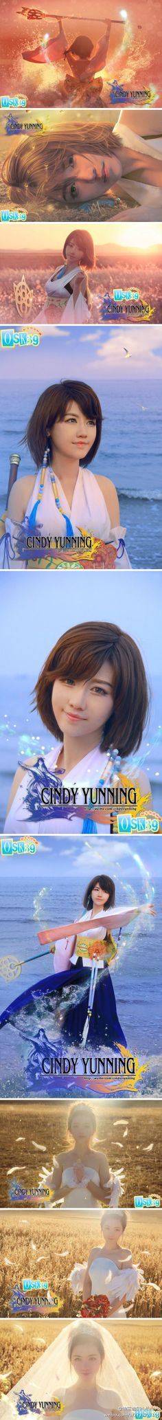 the BEST Yuna cosplay I've ever seen!!! by Chinese coser Cindy Yunning