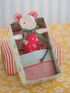 Mouse in a Matchbox - Digital Download for Mouse Pattern by MayBlossomStore on Etsy