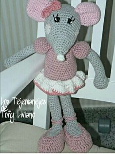 Ratita a crochet