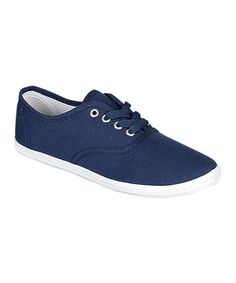 Look at this Refresh Navy Lemon Sneaker on #zulily today!