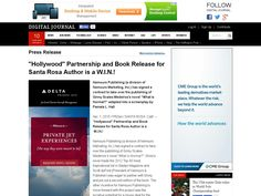 """""""Hollywood"""" Partnership and Book Release for Santa Rosa Author is a W.I.N.!"""