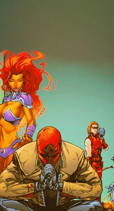 Red Hood and the Outlaws (Arsenal, Starfire) Death Among Us.