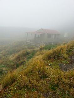 Maungahuka hut Tararua Range.