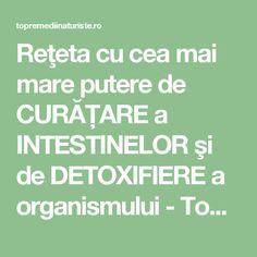 curatarea intestinelor de toxine