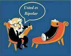 Um caso sério de patologia bipolar. #humor #psicologia #psicoterapia