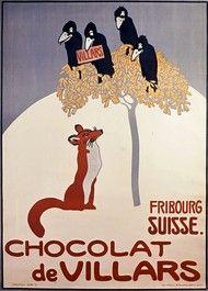 CHOCOLAT DE VILLARS - FRIBOURG SUISSE.
