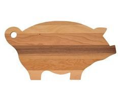 One of our most popular cutting boards, this unique pig-shaped design makes a fun gift for anyone! End Grain Cutting Board, Diy Cutting Board, Wood Cutting Boards, Wood Boards, Wood Crafts, Diy And Crafts, Pig Kitchen, Wood Pig, Wood Craft Patterns