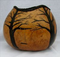 Shop Online - Wild Gourd Studio, southwest gourd art Native American influence respect for Mother Earth - Cynthia McDonald