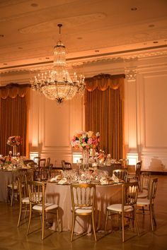 Nixon Library Wedding | Wedding Lighting by Elevated Pulse | Photo by Kevin Le Vu