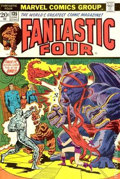 A cover gallery for the comic book Fantastic Four Marvel Comic Books, Marvel Dc Comics, Comic Books Art, Comic Art, Marvel Heroes, Marvel Vs, Comic Book Artists, Comic Book Characters, Marvel Characters