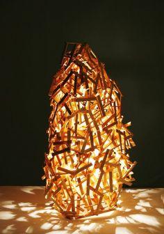 Lampa LAMP (proj. mrszebra  Katarzyna Staryk)