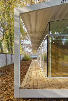 Fellows Pavilion - American Academy, Berlin | Barkow Leibinger; Photo © Stefan Müller | Archinect