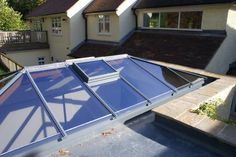 A roof lantern on a flat roof