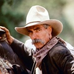 Sam Elliot. Sigh. The voice of a thousand orgasims...hey t HAD to be said