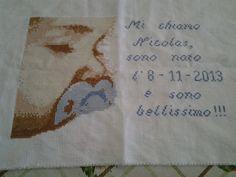 creazione realizzata da @luciacanino utilizzando questo tutorial album.alfemminile.com/album/718398/schemi-punto-croce-17572323.html