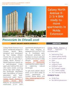 Galaxy North Avenue II Noida Extension |authorSTREAM