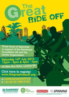 The Great Ride Off is on July 24, 2012! Sign up at www.thegreatrideoff.org