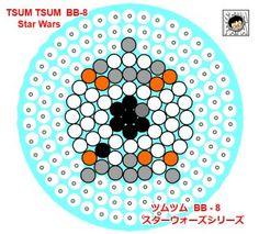 BB-8 - Star Wars ''Tsum Tsum'' Perler Bead Pattern