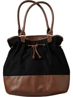 Women's Drawstring Bucket Bags   Old Navy