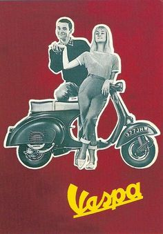 Vespa ~ Anonym | #Vespa #Scooters