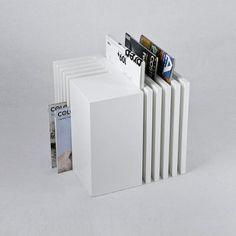 Cubico storage block by Italian industrial designer and architect, Alessandro Di Prisco