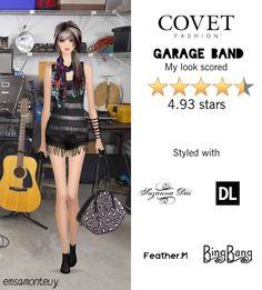 Garage Band @covetfashion  #covet #covetfashion #fashion #garageband #band #summer2015