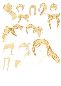 More hair styles for Alys?