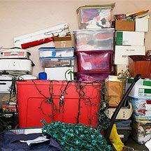 Home clutter & body fat go hand in hand--so true. (Weight Watchers)