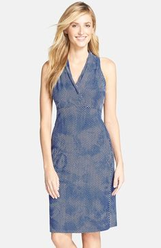 Marc New York by Andrew Marc Jacquard Sheath Dress available at #Nordstrom