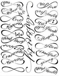 Infinity tattoos!