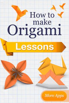 Origami is the ancient Japanese art of paper folding. Origami has become increasingly popular in Japan and the rest of the world. Many people enjoy the challenge of learning to fold traditional and non-traditional origami creations. This application will help you to get started.Try making an origami piece yourself. How to Make Origami Birds explains how to make well-known origami figures that people have been making for a long time.Our instructions are clear and simple, with actual 3D-...