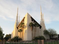 Las Vegas LDS Temple.  Beautiful when you're on the inside, the architecture itself makes you look heavenward...