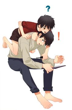 Hiro, what are you doing?