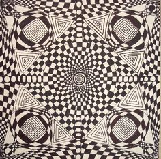 Learn How To Draw Optical Illusions