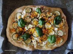 Vegetable Pizza, Feta, Vegetables, Vegetable Recipes, Veggies