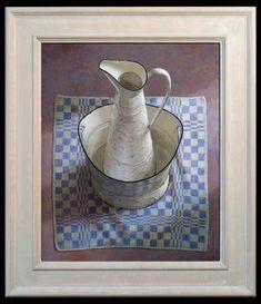 Kenne, Lampetkan - 47x56 cm - acryl op paneel - 2011
