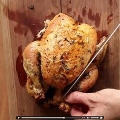 My Favorite Simple Roast Chicken - we eat the breast on day one, and use the rest in soups, enchiladas, chicken spaghetti. A big winner and so easy! www.thislifeinprogress.com